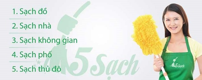 Dịch vụ vệ sinh công nghiệp 5 Sạch được thành lập từ năm 2015