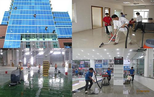 Dịch vụ vệ sinh Minh Long