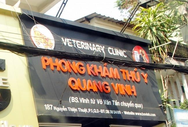 Phòng khám Thú Y Quang Vinh là Top Phòng khám thú y uy tín và đảm bảo nhất tại TPHCM