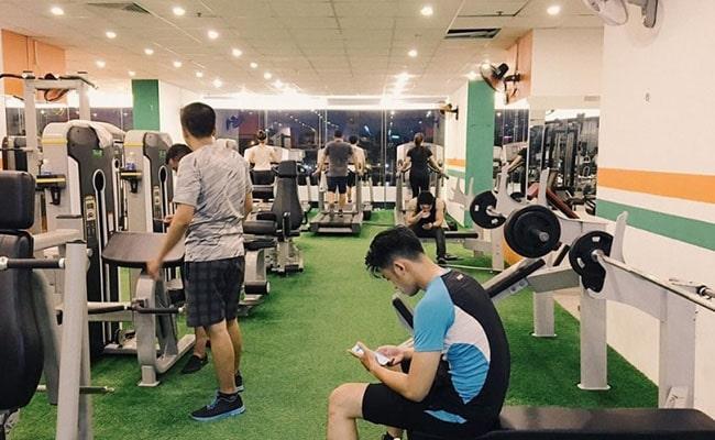 Phòng tập gym Quốc Thi Fitness & Yoga