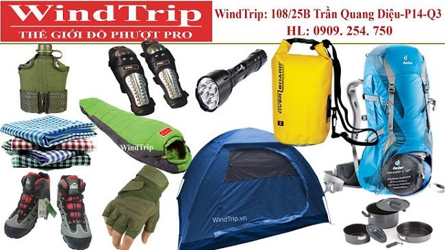 Windtrip là Top 10 shop bán đồ đi du lịch dã ngoại, đi phượt uy tín nhất