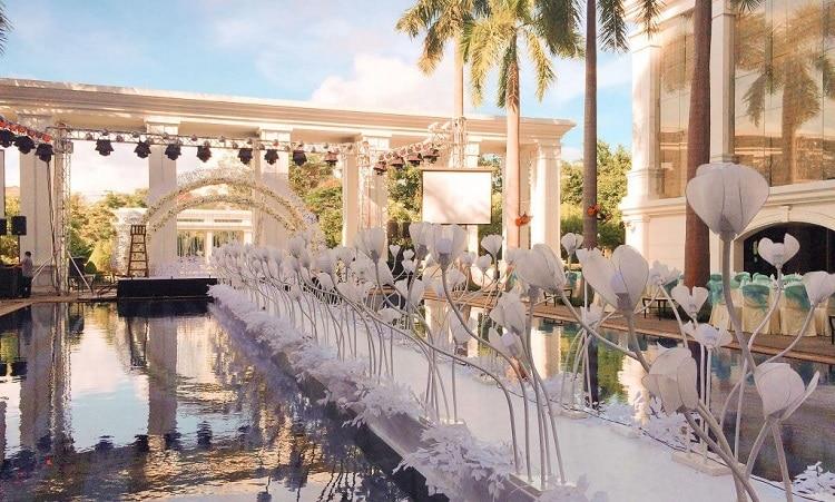 top 10 Nhà hàng tổ chức tiệc cưới nổi tiếng nhất ở Huế -  indochine palace