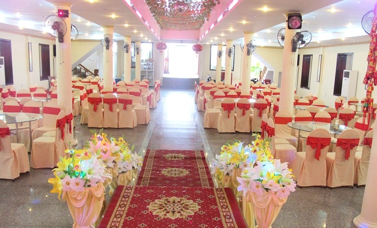 top 10 Nhà hàng tổ chức tiệc cưới nổi tiếng nhất ở Huế - trúc xanh
