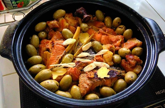 Top 10 món đặc sản Phú Thọ hấp dẫn du khách bốn phương - trám om kho cá