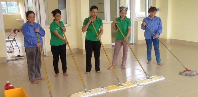 Thái Nguyễn là Top 10 công ty dịch vụ vệ sinh, dọn dẹp nhà ở uy tín nhất TPHCM