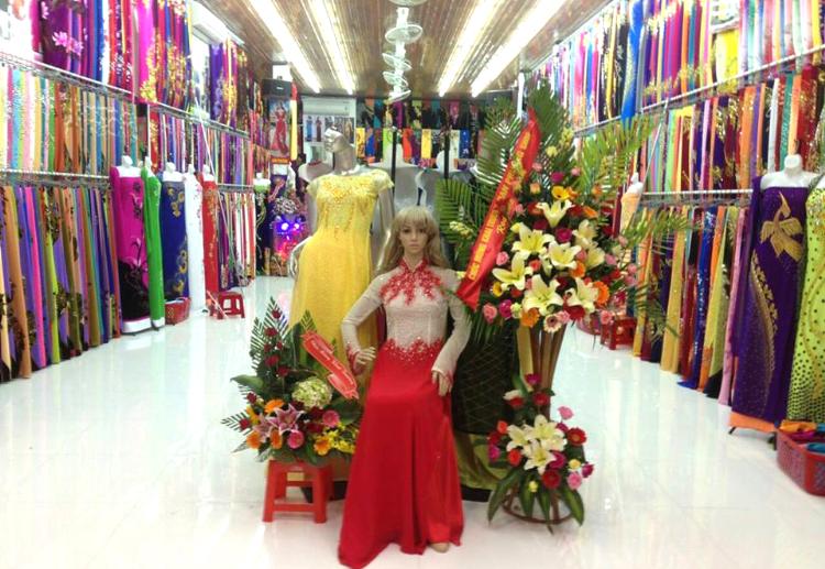 Top địa chỉ mua vải và may áo dai đẹp nhất Huế - Dan Phuong