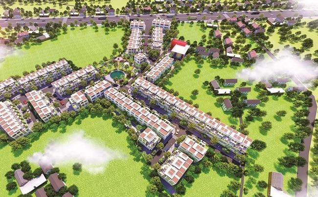 Dự án đất nền Hoàng Phúc Residence - Long An
