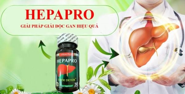 Thuốc giải độc gan herbapro