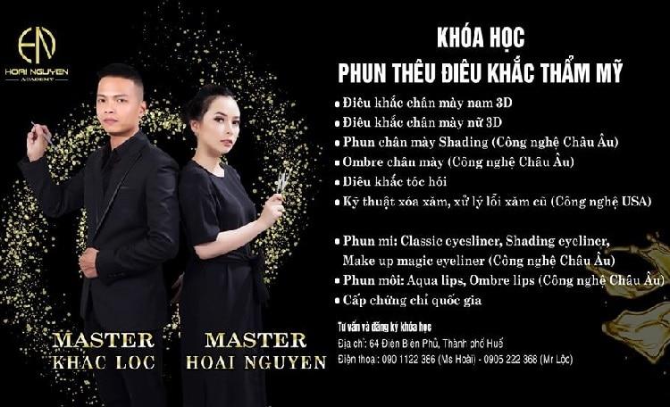 Top 10 địa chỉ phun xăm thẩm mỹ uy tín chất lượng nhất Huế - hoài nguyễn