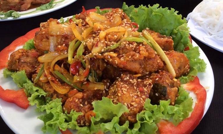 top 10 quán ăn hải sản tươi sống ngon bổ rẻ nhất tại Huế - Kim Crawfish