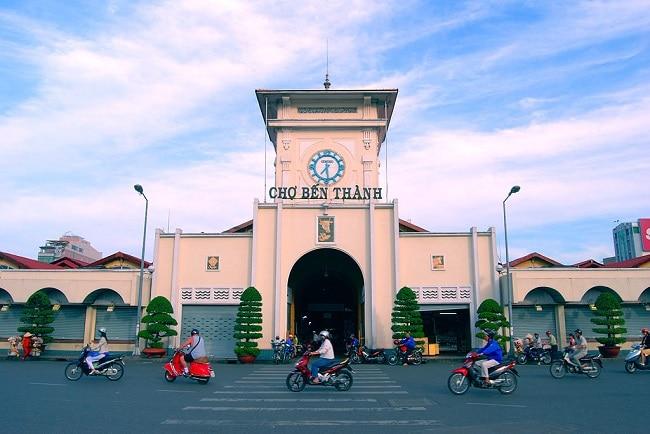 Chợ Bến Thành là Top 10 chợ đầu mối lớn và rẻ nhất TPHCM