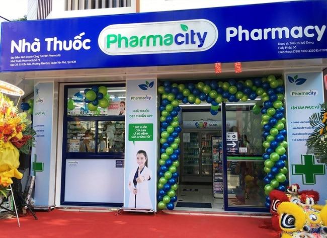 nhà thuốc Pharmacity là Top 10 Cửa hàng bán thuốc Tây giá rẻ và uy tín nhất tại TP. Hồ Chí Minh