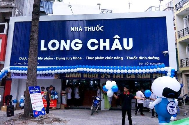 nhà thuốc Long Châu là Top 10 Cửa hàng bán thuốc Tây giá rẻ và uy tín nhất tại TP. Hồ Chí Minh