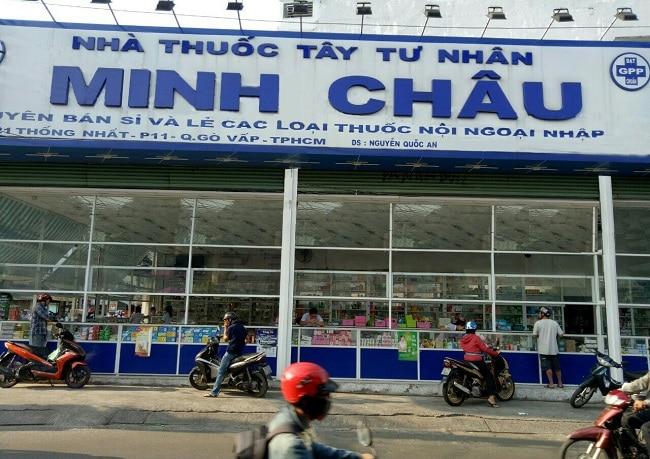 nhà thuốc Minh Châu là Top 10 Cửa hàng bán thuốc Tây giá rẻ và uy tín nhất tại TP. Hồ Chí Minh