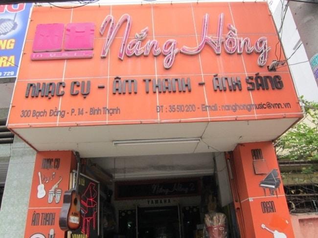 Cửa hàng nhạc cụ Nắng Hồng là Top 10 Cửa hàng bán nhạc cụ uy tín nhất tại TP. Hồ Chí Minh