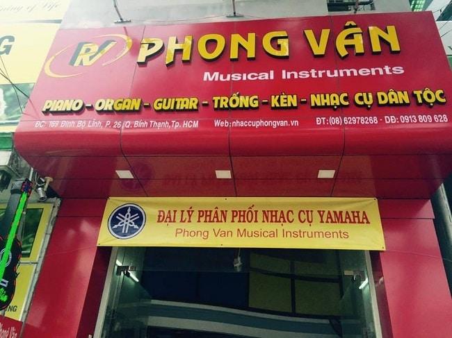 Nhạc cụ Phong Vân là Top 10 Cửa hàng bán nhạc cụ uy tín nhất tại TP. Hồ Chí Minh