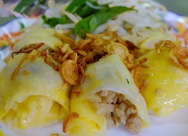 Bật mí Top 10 đặc sản ẩm thực Lạng Sơn vô cùng hấp dẫn: Bánh cuốn trứng