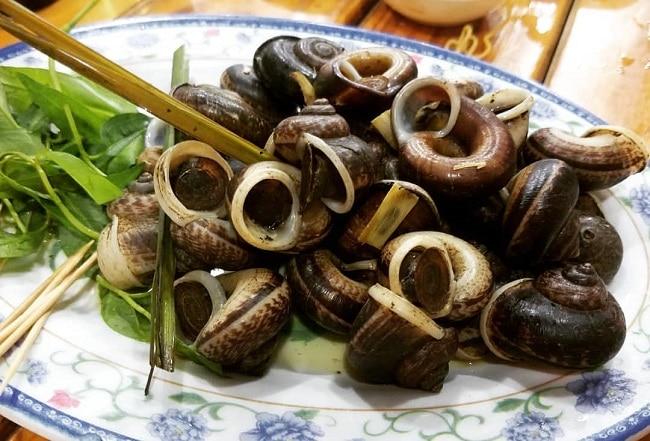 Ốc xu hấp là Top 10 đặc sản của Tây Ninh, có thể bạn chưa biết?