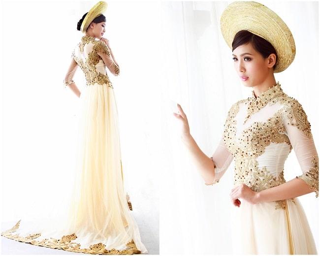 Áo dài Thanh Hà là Top 5 địa chỉ may áo dài đẹp tại Tp Hồ Chí Minh