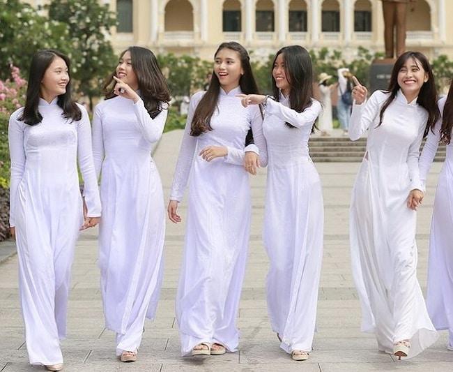 Áo dài Tiên là Top 5 địa chỉ may áo dài đẹp tại Tp Hồ Chí Minh