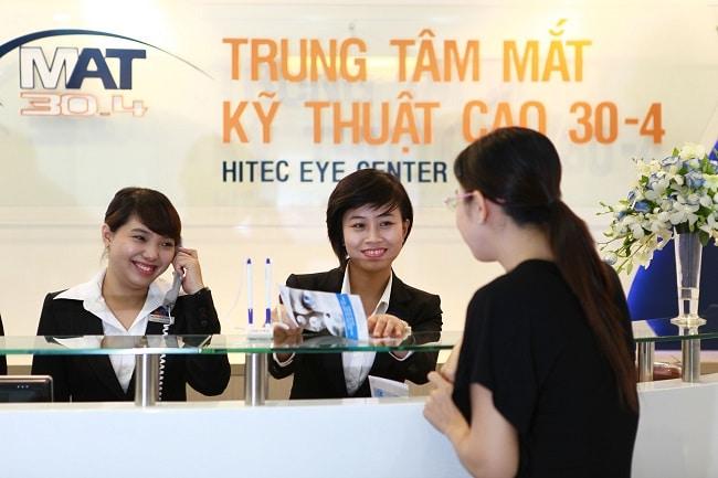 Trung tâm mắt kỹ thuật cao 30/4 là Top 5 địa chỉ mổ mắt cận thị tốt nhất TP. Hồ Chí Minh