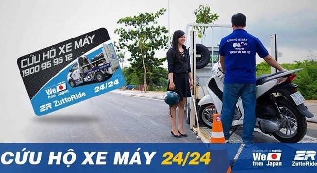 ZuttoRide Việt Nam là Top 8 Dịch vụ sửa chữa, cứu hộ xe ô tô, xe máy tốt nhất tại TP. Hồ Chí Minh