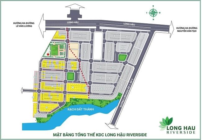 Dự án đất nền Long Hậu Riverside là Top 10 dự án đất nền uy tín & tốn nhất Long An