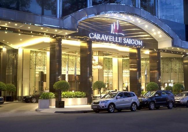 Khách sạn Caravelle là Top 10 Khách sạn và resort nổi tiếng đối với khách du lịch nhất ở TP Hồ Chí Minh