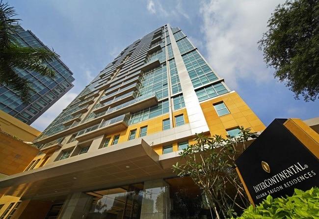 Khách sạn InterContinental Asiana Sài Gòn là Top 10 Khách sạn và resort nổi tiếng đối với khách du lịch nhất ở TP Hồ Chí Minh