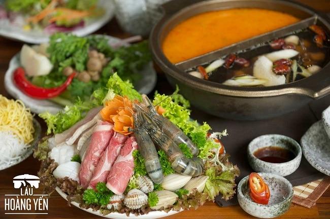 Hoàng Yến Hot Pot là Top 10 Nhà hàng ngon nhất ở Quận 7 - TP. Hồ Chí Minh