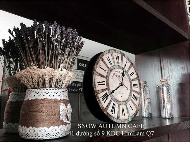 Snow Autumn Cafe là Top 8 Quán cafe đẹp nhất quận 7, TPHCM