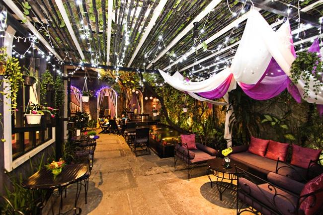 Pergola Café là Top 10 Quán cà phê đẹp nhất quận Phú Nhuận, TP. Hồ Chí Minh