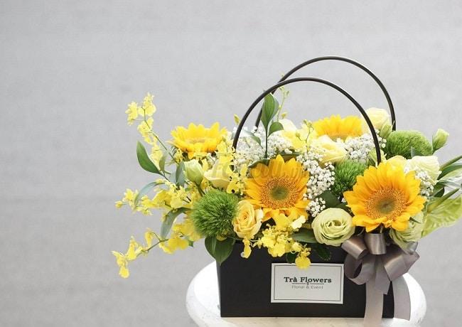 Trà Flowers là Top 10 shop hoa trực tuyến ở TP Hồ Chí Minh