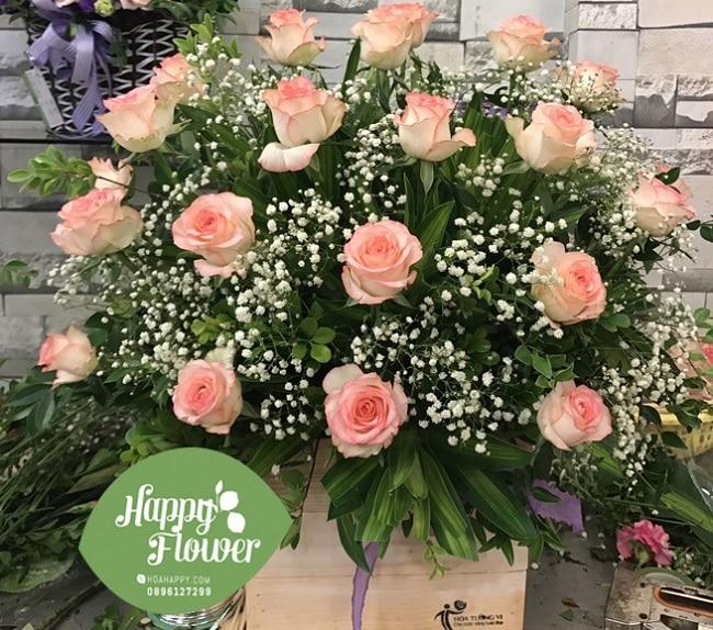 Happy flowers là Top 10 shop hoa trực tuyến ở TP Hồ Chí Minh
