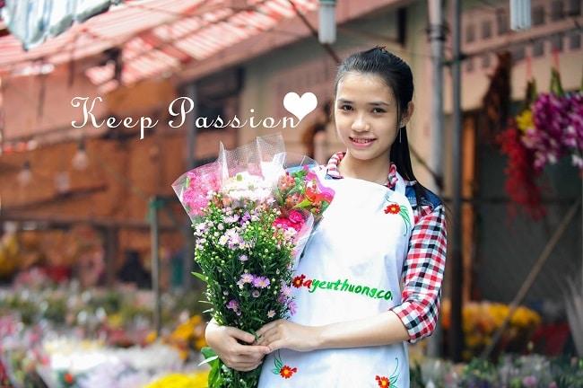 Hoa yêu thương là Top 10 shop hoa trực tuyến ở TP Hồ Chí Minh