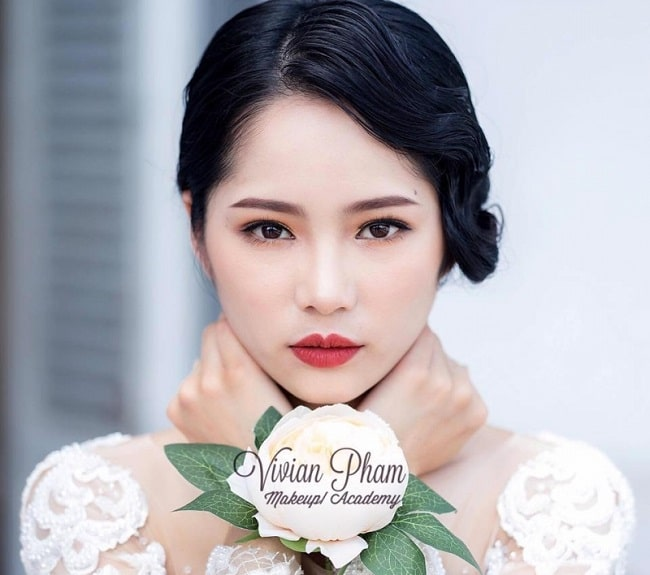 Vivian Phạm Makeup là Top 10 Tiệm trang điểm cô dâu đẹp nhất tại TP. Hồ Chí Minh