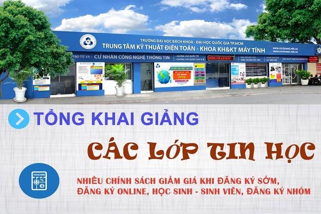 Trung tâm kỹ thuật điện toán là Top 5 Trung tâm dạy autocad tốt nhất tại TP. Hồ Chí Minh