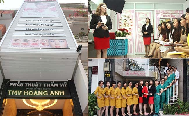 Tham my Hoang Anh