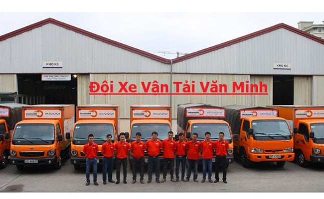 doi xe van tai Van Minh