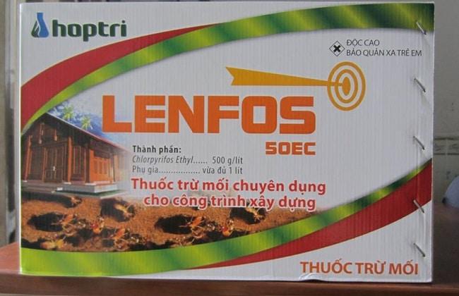 Ưu điểm của thuốc diệt mối Lenfos 50 EC