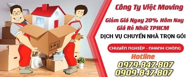 Taxi tải Vietmoving uy tín chuyên nghiệp