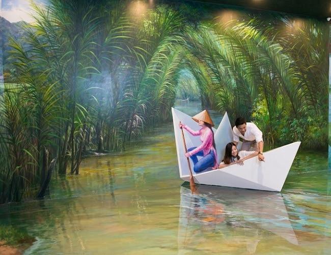 Bảo tàng tranh 3D là Top 10 địa điểm chơi Tết hấp dẫn nhất tại TP. Hồ Chí Minh