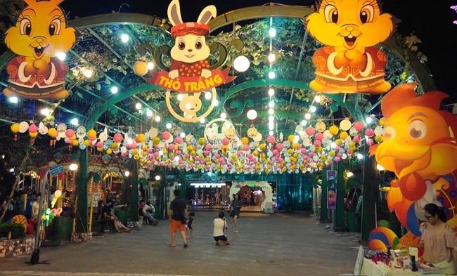 Khu vui chơi giải trí Thỏ Trắng là Top 10 địa điểm chơi Tết hấp dẫn nhất tại TP. Hồ Chí Minh