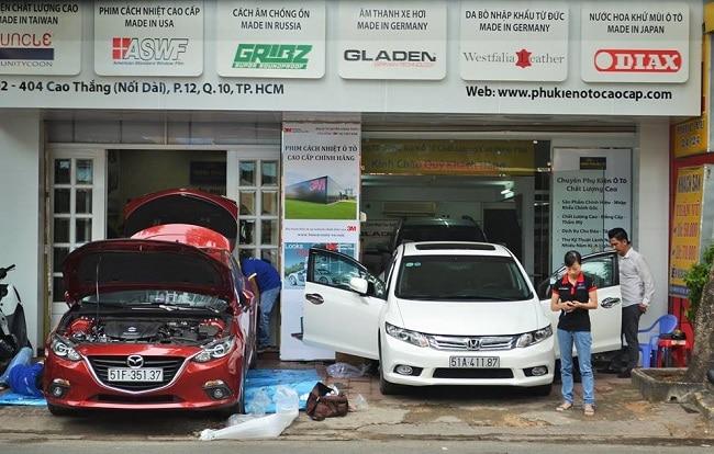 Minh Phú Auto là Top Dịch vụ bọc ghế da xe hơi uy tín và chất lượng tại Thành phố Hồ Chí Minh