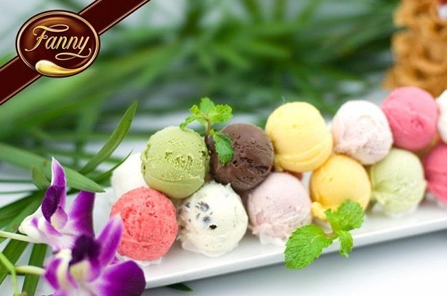 Kem Fanny là Top 10 Quán kem ngon nhất ở thành phố Hồ Chí Minh