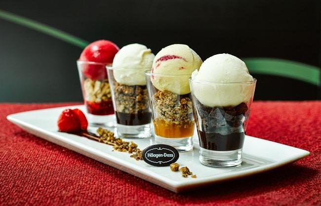 Kem Haagen Dazs là Top 10 Quán kem ngon nhất ở thành phố Hồ Chí Minh
