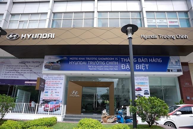 Hyundai Trường Chinh là Top 10 showroom bán ô tô chính hãng, uy tín nhất TP. Hồ Chí Minh