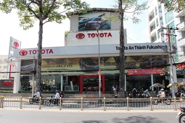 Toyota An Thành Fukushima là Top 10 showroom bán ô tô chính hãng, uy tín nhất TP. Hồ Chí Minh