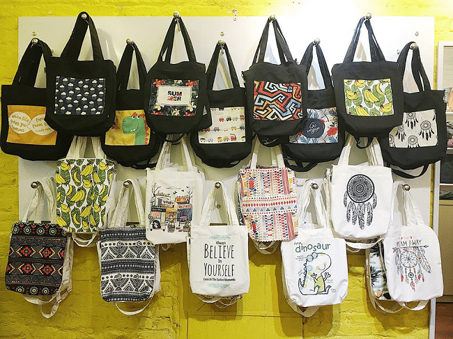 Những Shop bán túi vải tote đẹp nhất TP Hồ Chí Minh
