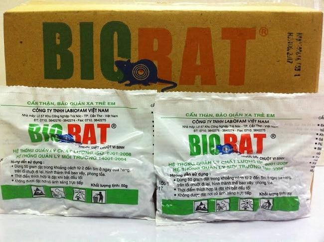 Biorat là Top 10 thuốc diệt chuột tốt nhất hiện nay